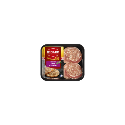 Roulade de porc au thym de provence, BIGARD, barquette 400g