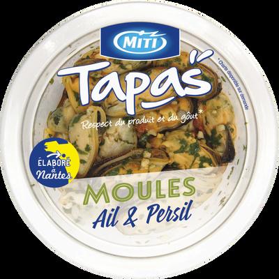 Moules ail et persil, MITI, Transformé en France, 80g