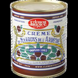 Crème de marrons CLEMENT FAUGIER, 992g