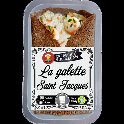 Galette au noix de Saint Jacques CRÊPERIE ARTISANALE DE GUERLEDAN, X1soit 280g