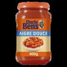 Sauce à cuisiner aigre douce UNCLE BEN'S, bocal de 400g