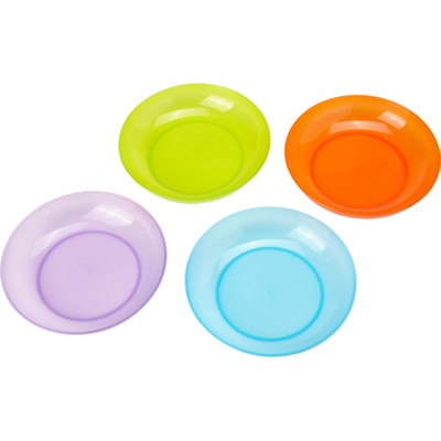 Lot de 2 assiettes micro-ondes U TOUT PETITS