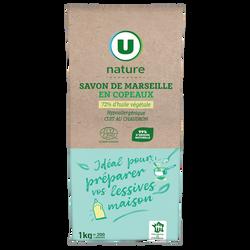 Copeaux de savon de Marseille U NATURE sachet 1kg