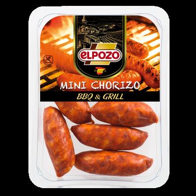 Mini chorizo à cuire au barbecue EL POZO, 300g