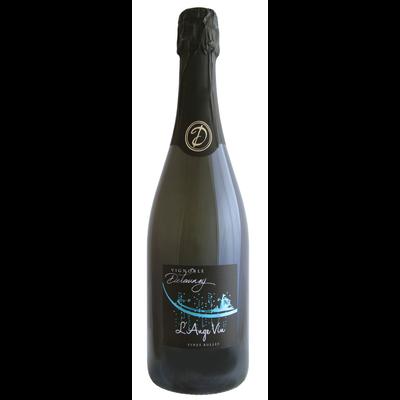 """Cocktail arômatisé à base de vin mousseux L'Ange Vin """"Domaine Delaunay"""", 75cl"""