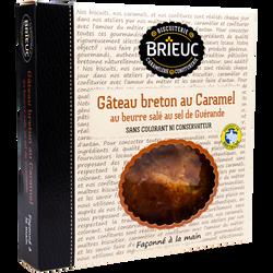 Gâteau breton fourré au caramel au beurre salé BRIEUC, 350g
