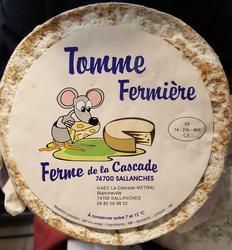 TOMME FERMIERE DE BLANCHVILLE Lait cru