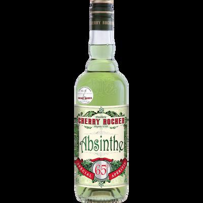 Liqueur d'absinthe verte CHERRY ROCHER, 65°, 70cl