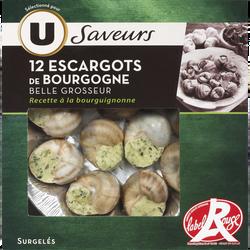 Escargots de Bourgogne Label Rouge Saveur U, x12