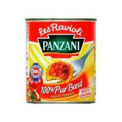 Ravioli pur boeuf PANZANI boîte 4/4, boite de 800g