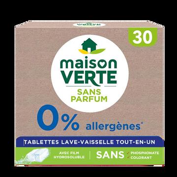 Maison Verte Tablette 0% Tout En 1 Maison Verte, 30 Lavages