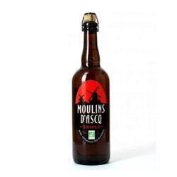 Bière Blonde MOULIN DASCQ Triple Bio 8° 75CL
