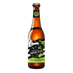 Bière blonde bio BINIOUZ, bouteille de 33cl