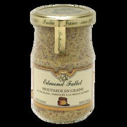 Moutarde en grains EDMOND FALLOT, bocal 21cl