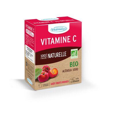 Vitamine c 100 % d'origine naturelle bio