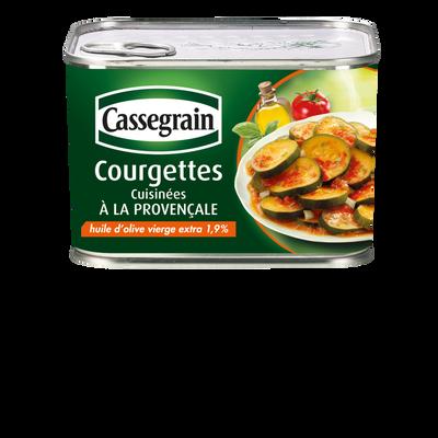 Courgettes à la Provençale CASSEGRAIN, 4/4 660g