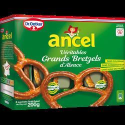 Coffret grands bretzels d'Alsace ANCEL, 8x200g