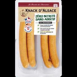Knack d'Alsace sans nitrite, 260g