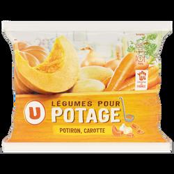 Mélange de carotte et potiron pour potage U, 1kg