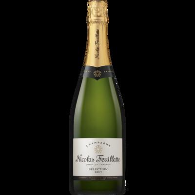 Champagne brut NICOLAS FEUILLATTE, bouteille de 75cl
