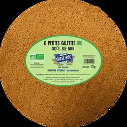 6 Petites galettes de blé Noir BIO, CATEL ROC, 270g