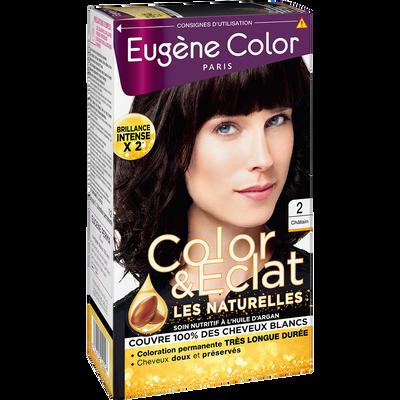 Coloration crème permanente EUGENE COLOR, châtain n°2