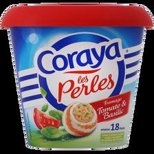 Spécialité de surimi et de fromage tomate et basilic CORAYA, 144g