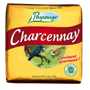 Paysange Fromage Au Lait Pasteurisé Carré Charcenay Paysange, 29% De Mg, 160g