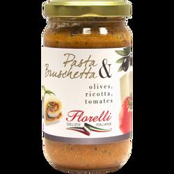 Olives ricotta tomates FLORELLI 190g