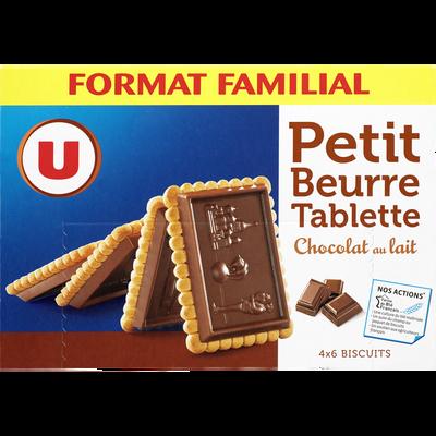 Petit Beurre tablette chocolat au lait U, 300g