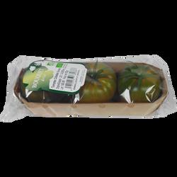 Tomate côtelée, segment Les côtelées, noire, BIO, catégorie 2, Espagne, barquette, 300g