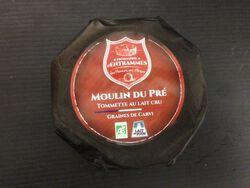 Fromage, Moulin du pré, au lait cru de vache, ENTRAMMES, 250G