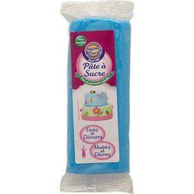 pate à sucre bleu