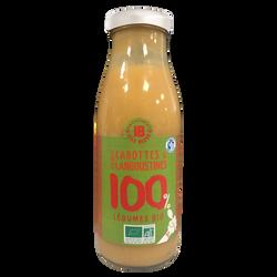 Velouté de carottes bio et langoustines ILE BLEUE, bouteille 490g