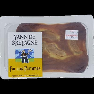 Far breton pommes x1 350g Créperie d'Emeraude