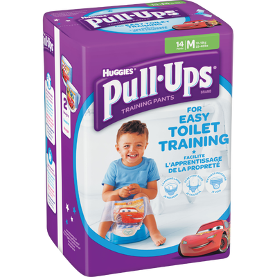 Couches culottes pour garçons Pull Ups HUGGIES, taille 5, x14