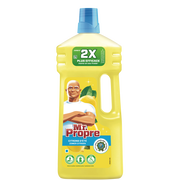 Mr. Propre Nettoyant Dilué Clean&fresh Citron Mr Propre, 1,3l