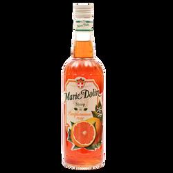 Sirop de pamplemousse rose MARIE DOLIN, bouteille de 70cl