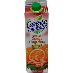 Boisson orange gingembre, CARESSE ANTILLAISE, 1l