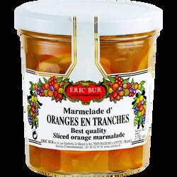 Marmelade extra orange en tranches ERIC BUR, 370g