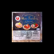 Minis toasts moelleux suédois U, 200g
