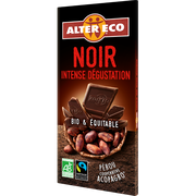 Alter Eco Chocolat Noir Intense Bio Alter Eco, Tablette De 100g