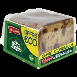 Le cake à l'anglaise BROSSARD paquet 400g