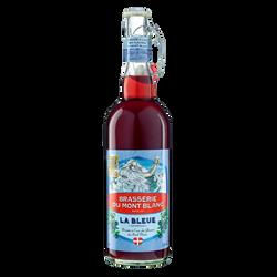 Bière Mont Blanc Myrtille éphémère, 5,8°, bouteille de 75cl