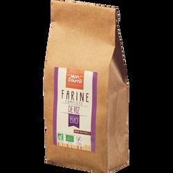 Farine complète de riz bio sans gluten, MON FOURNIL, sachet de 400g