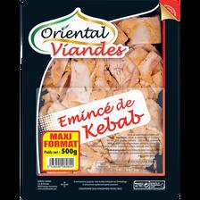 Emincé de kebab halal ORIENTALE VIANDES, 500g