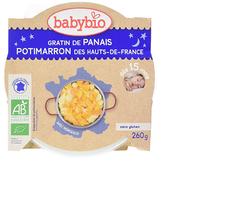Ass Bonne nuit gratin panais, carotte, polenta BABYBIO dès 12 mois 230g