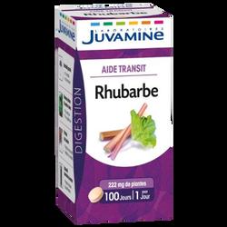 Digestion aide transit à la rhubarbe JUVAMINE, x100 comprimés