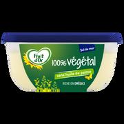 Fruit d'Or Margarine À Tartiner Et À Cuire 100 % Végétal Sans Huile De Palme Demi-sel Enrichie En Vitamine D Fruit D'or, 70%mg, 400g