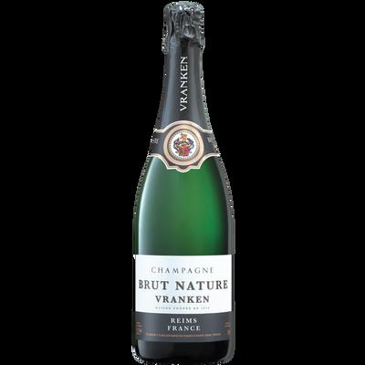 Champagne Brut nature VRANKEN, bouteille de 75cl